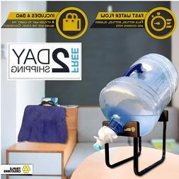 Authentic Premium 3-5 Gallon Water Jug Cooler Dispenser Stan