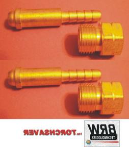 Western Water Cooler Fitting AW-14 & AW-17 LH Nut & 1/4 hose